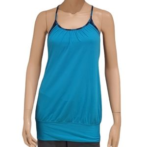 Lululemon Womens turquoise no limit tank top small
